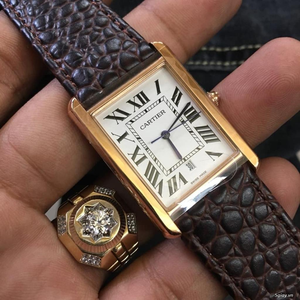 Chuyên đồng hồ Catier,Corum sang trọng Men & Lady model mới nhất 2019 - 27
