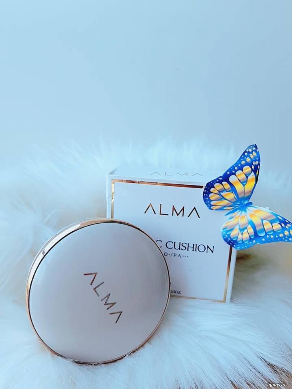 10 Lý do tại sao bạn nên dùng phấn nước Alma CC Cushion SPS50+/PA+++