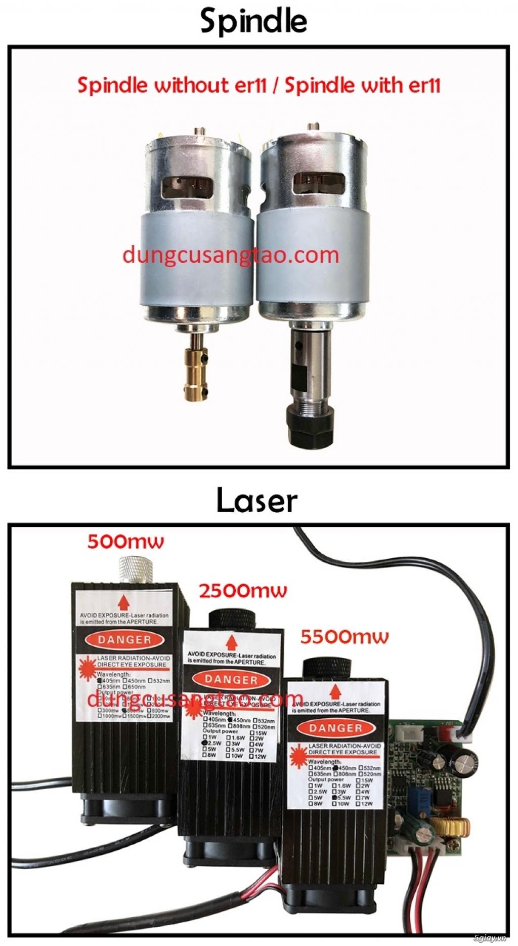Máy CNC mini giá rẻ cho sinh viên - 8