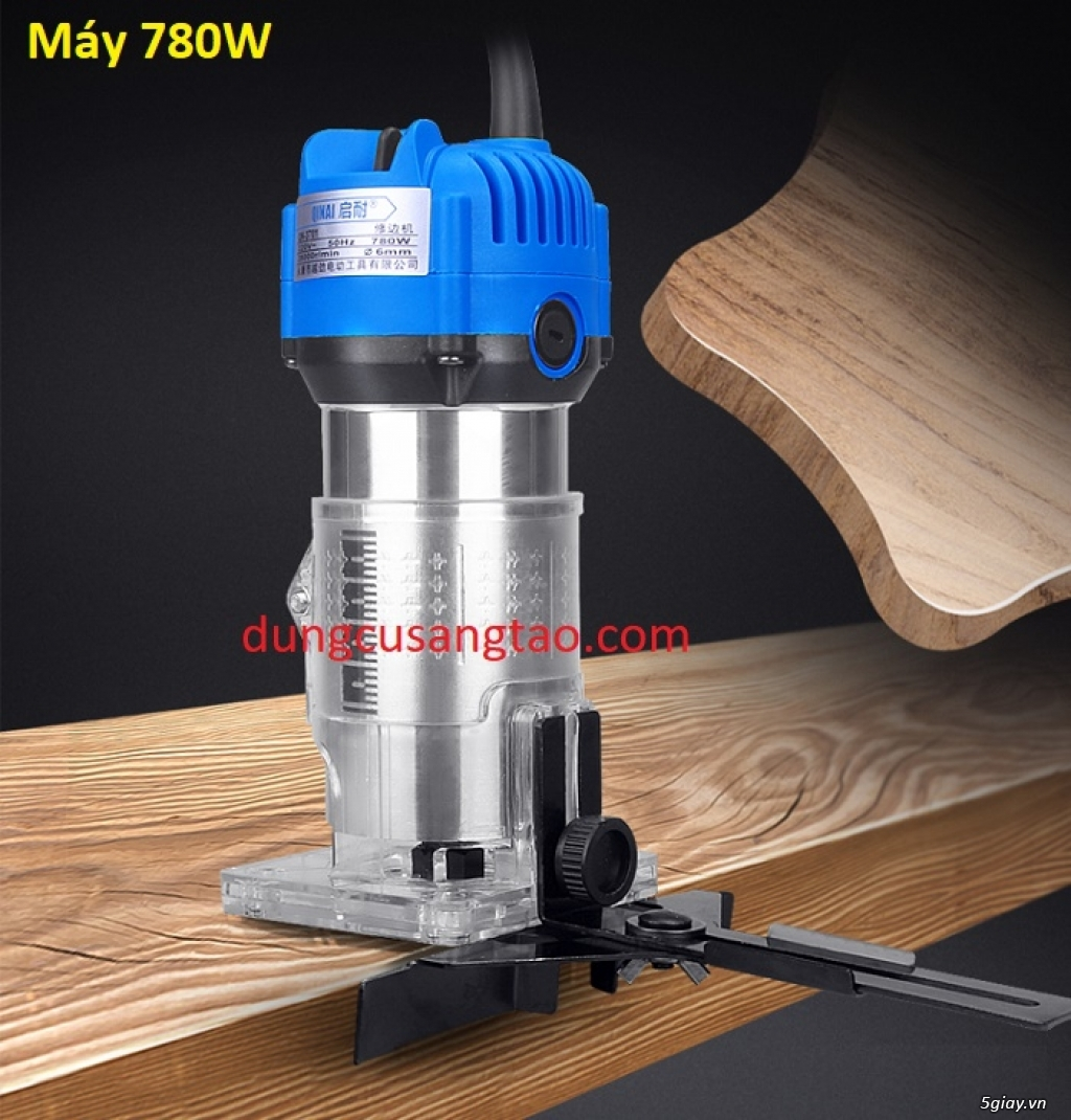 Máy phay gỗ router trimmer cầm tay - 1