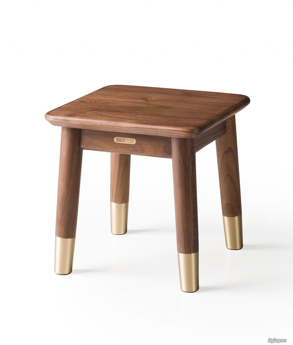 Bộ bàn học gỗ Óc Chó nhập khẩu - 7