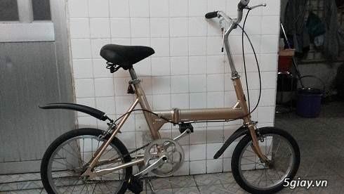 Xe đạp xếp của Nhật