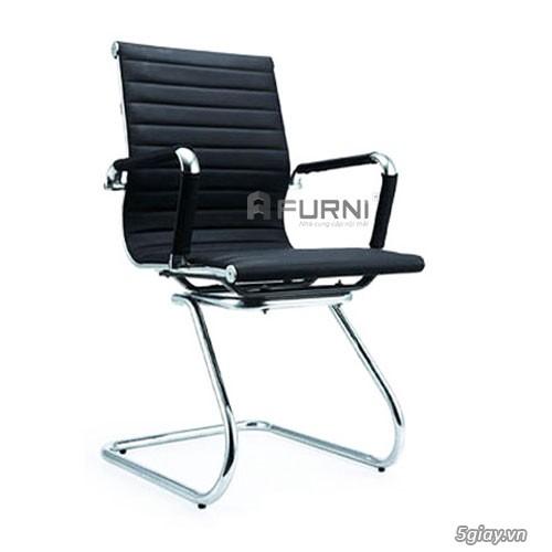 Ghế chân quỳ văn phòng chân thép mạ chrome hiện đại