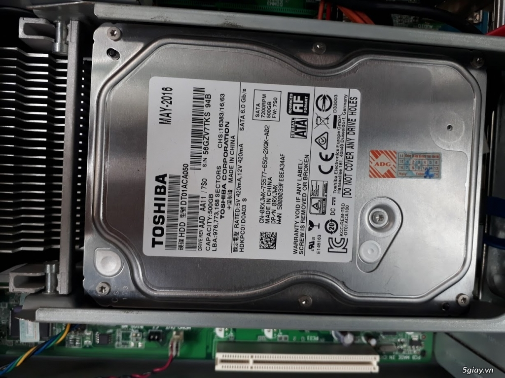 Bán xác Lenovo ThinkCentre M58 - 4