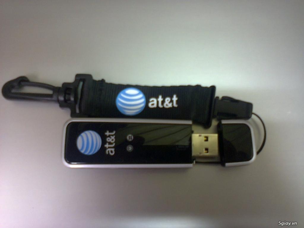 Bán usb 3g at&t sierra wireless 7.2 Mbps - 21.6Mbps, hàng xách tay từ USA - 1