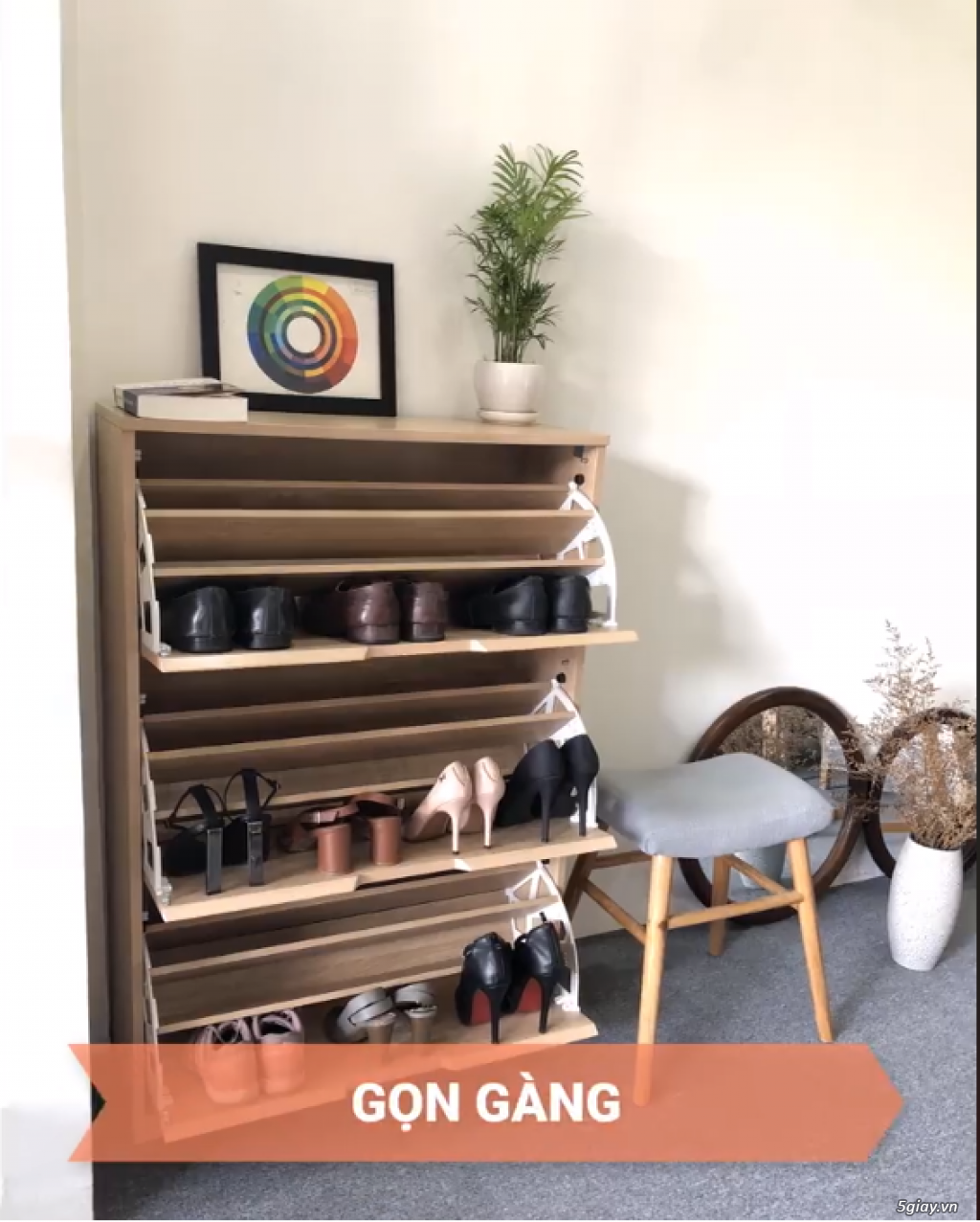 Tủ Giày Phòng Khách - An Thanh Home - 1