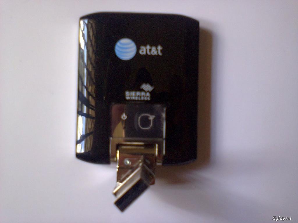 Bán usb 3g at&t sierra wireless 7.2 Mbps - 21.6Mbps, hàng xách tay từ USA - 11