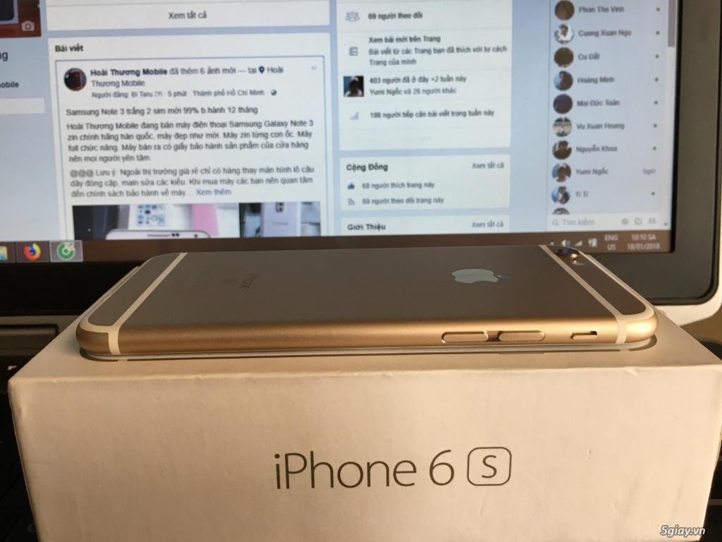 iphone 6s 64GB (Đen/Bạc/Hồng/Vàng) b.hành 12 tháng - 3