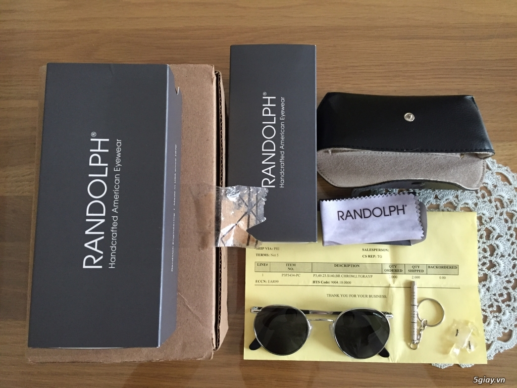 Cần bán kính mát Randolph Engineering - 1