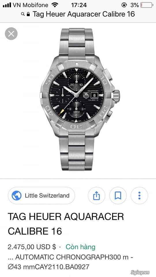 TAG Heuer GRAND CARRERA Calibre ,AQUARACER,LS MONACO NEW ALL - 14