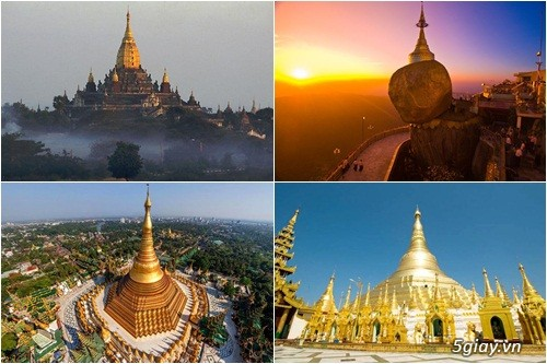 CHƯƠNG TRÌNH DU LỊCH HÀNH HƯƠNG KHÁM PHÁ MYANMAR 4N3Đ  Tết 2019 - 1