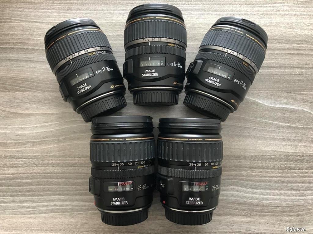 Lens Canon crop các loại: 18-105 || 18-135 || 18-200 || 17-85 ... - 2