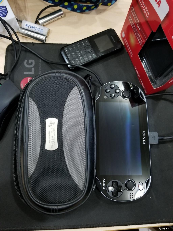 [Máy Game] PS VITA _ PCH-1101 _ Hàng USA _ SIM 3G ATT - 3