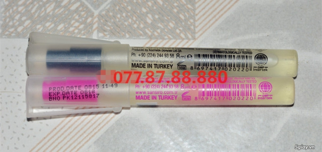 HCM - [70k] Nước hoa mini 8ml SANSIRO Thổ Nhĩ Kỳ. Bán lẻ với giá sỉ!!! - 14