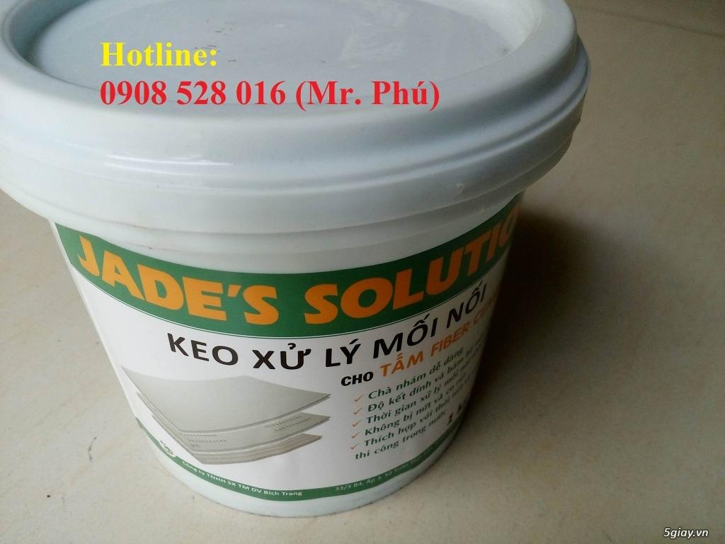 Keo Jade's Solution xử lý mối nối tấm xi măng cemboard giá rẻ - 2