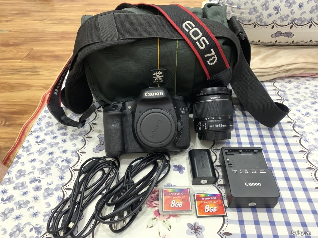 Cần bán Canon 7D ít sử dụng, còn mới