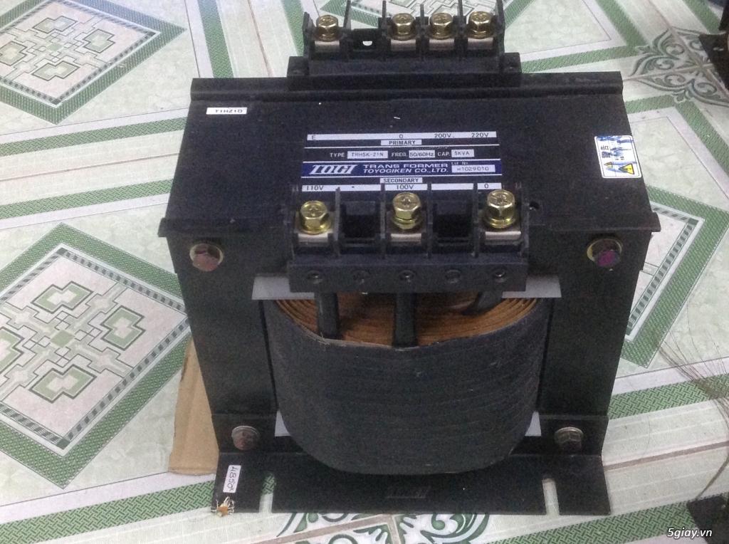 Biến áp cách ly Nhật 500VA -10KVA, lọc nguồn âm thanh..... - 8