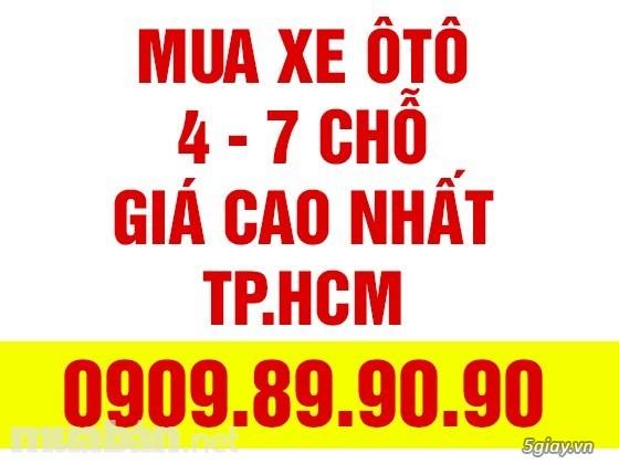 Mua bán xe Oto Cty Góp Ngân hàng 4-7 chỗ tại Tphcm giá cao nhất
