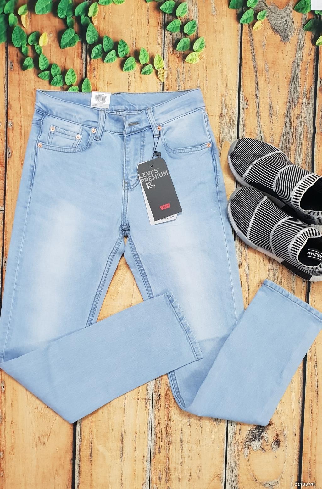 Chuyên bán quần jeans Nam Levi's 511 dáng xuông đủ màu đủ size - 10