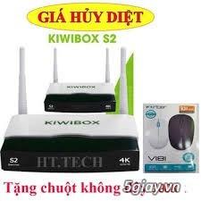Đầu Android Box Kiwi S2, khuyến mãi chuột không dây Kiwi S183