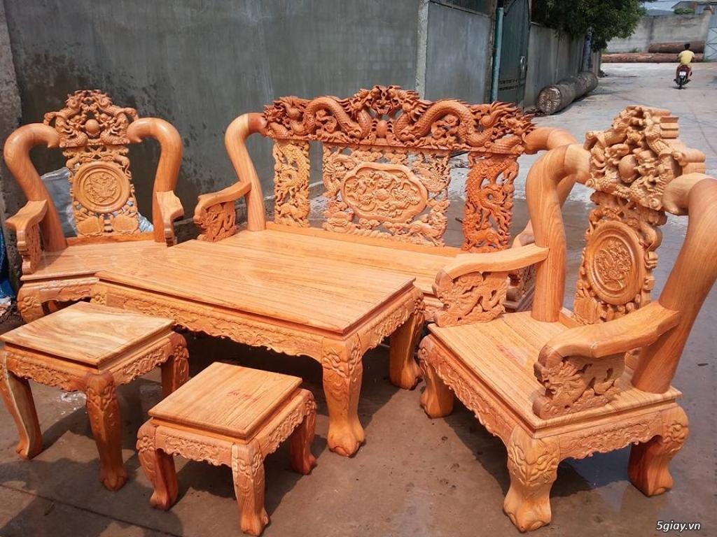 salon phòng khách gỗ quý giá cực rẻ ( xem hàng tại xưởng ) - 29