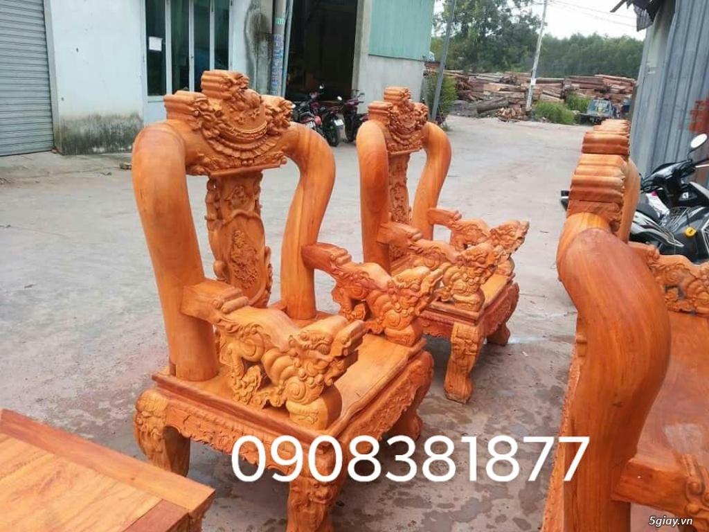 salon phòng khách gỗ quý giá cực rẻ ( xem hàng tại xưởng ) - 5