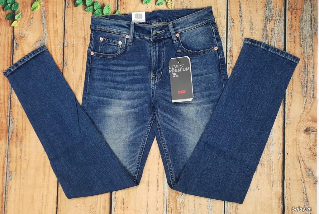 Chuyên bán quần jeans Nam Levi's 511 dáng xuông đủ màu đủ size - 12