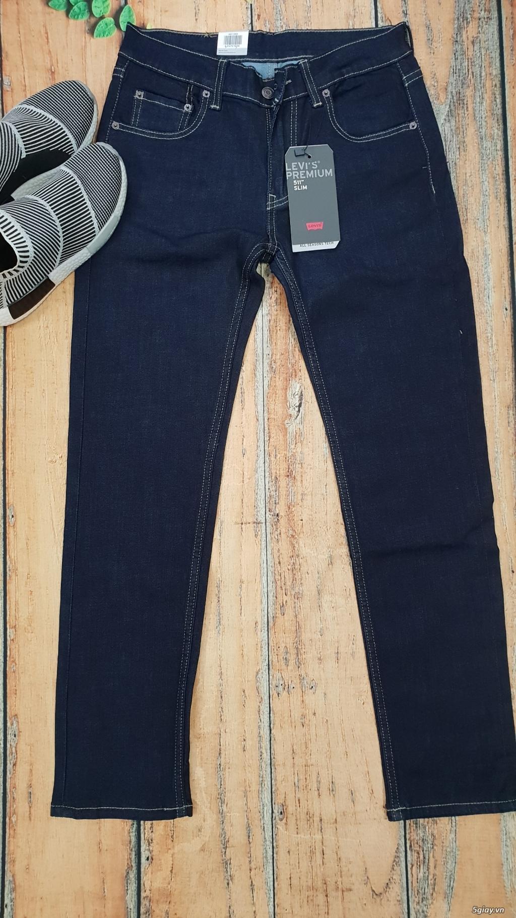 Chuyên bán quần jeans Nam Levi's 511 dáng xuông đủ màu đủ size - 1