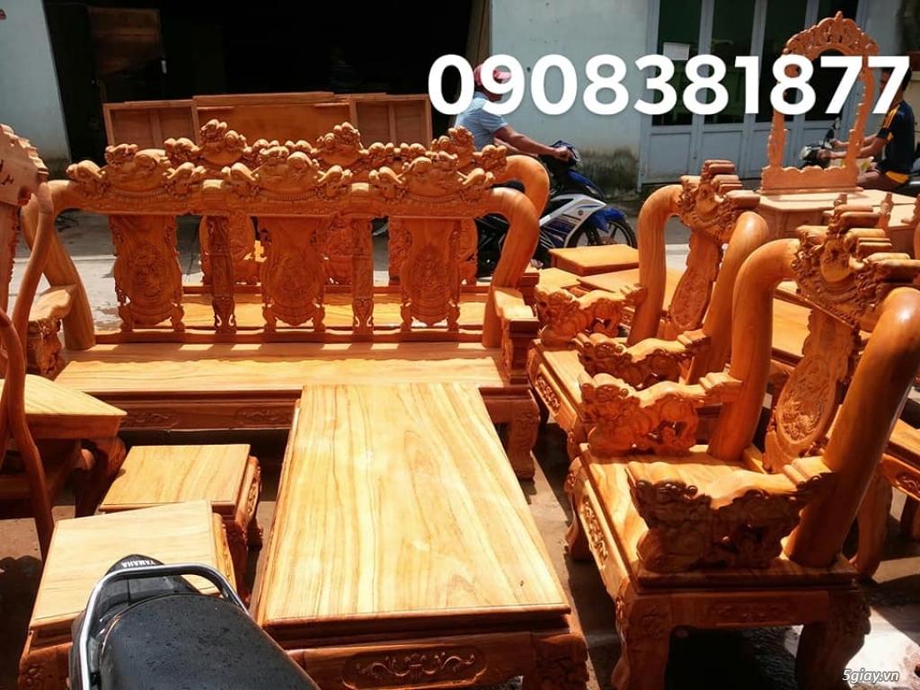 salon phòng khách gỗ quý giá cực rẻ ( xem hàng tại xưởng ) - 24