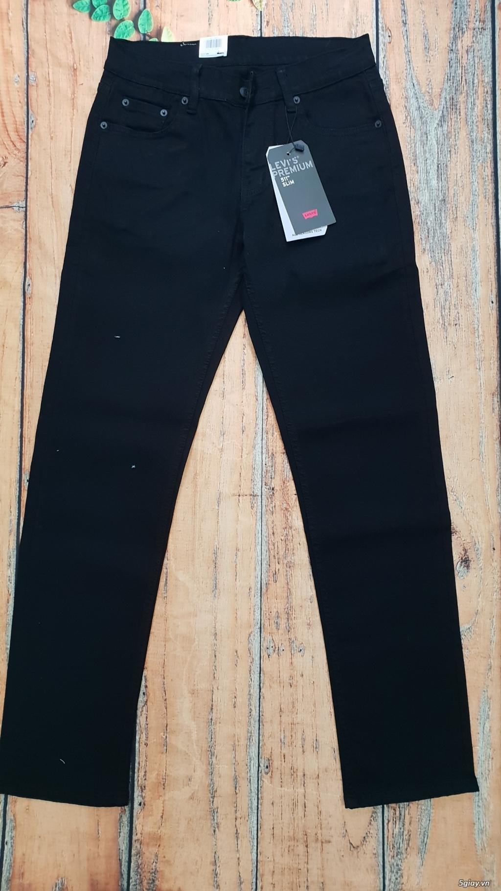 Chuyên bán quần jeans Nam Levi's 511 dáng xuông đủ màu đủ size - 4