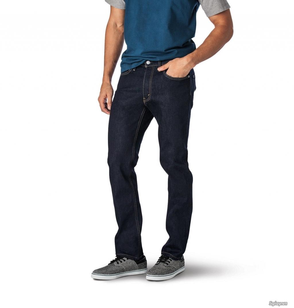 Chuyên bán quần jeans Nam Levi's 511 dáng xuông đủ màu đủ size - 2