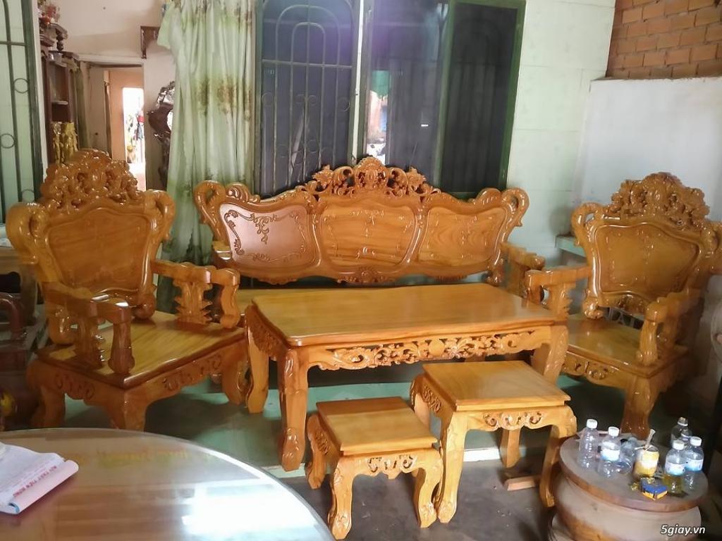 salon phòng khách gỗ quý giá cực rẻ ( xem hàng tại xưởng ) - 34