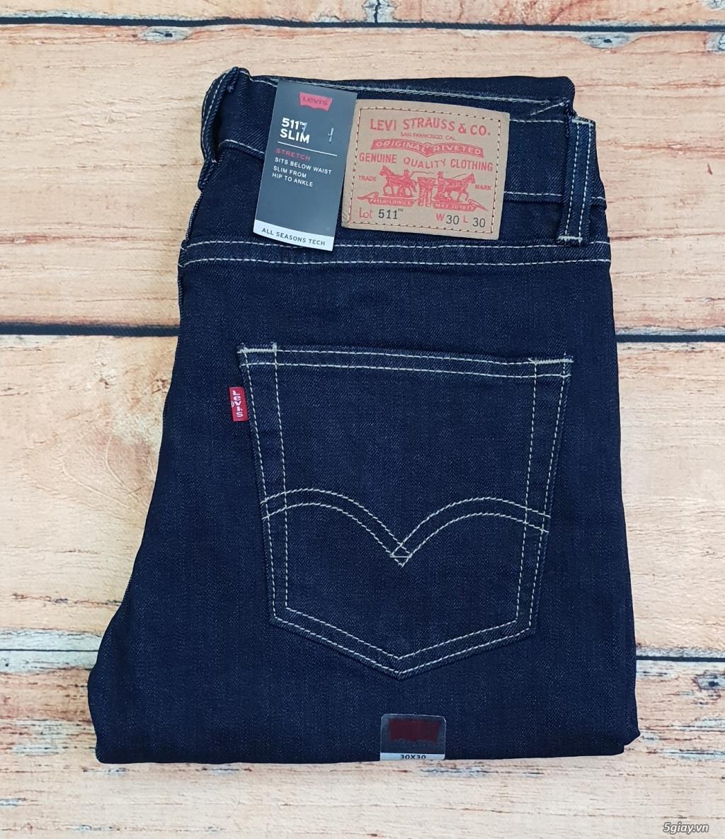 Chuyên bán quần jeans Nam Levi's 511 dáng xuông đủ màu đủ size