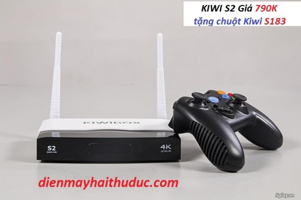 Đầu Android Box Kiwi S2, khuyến mãi chuột không dây Kiwi S183 - 2