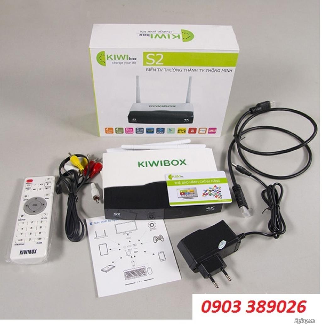 Đầu Android Box Kiwi S2, khuyến mãi chuột không dây Kiwi S183 - 3