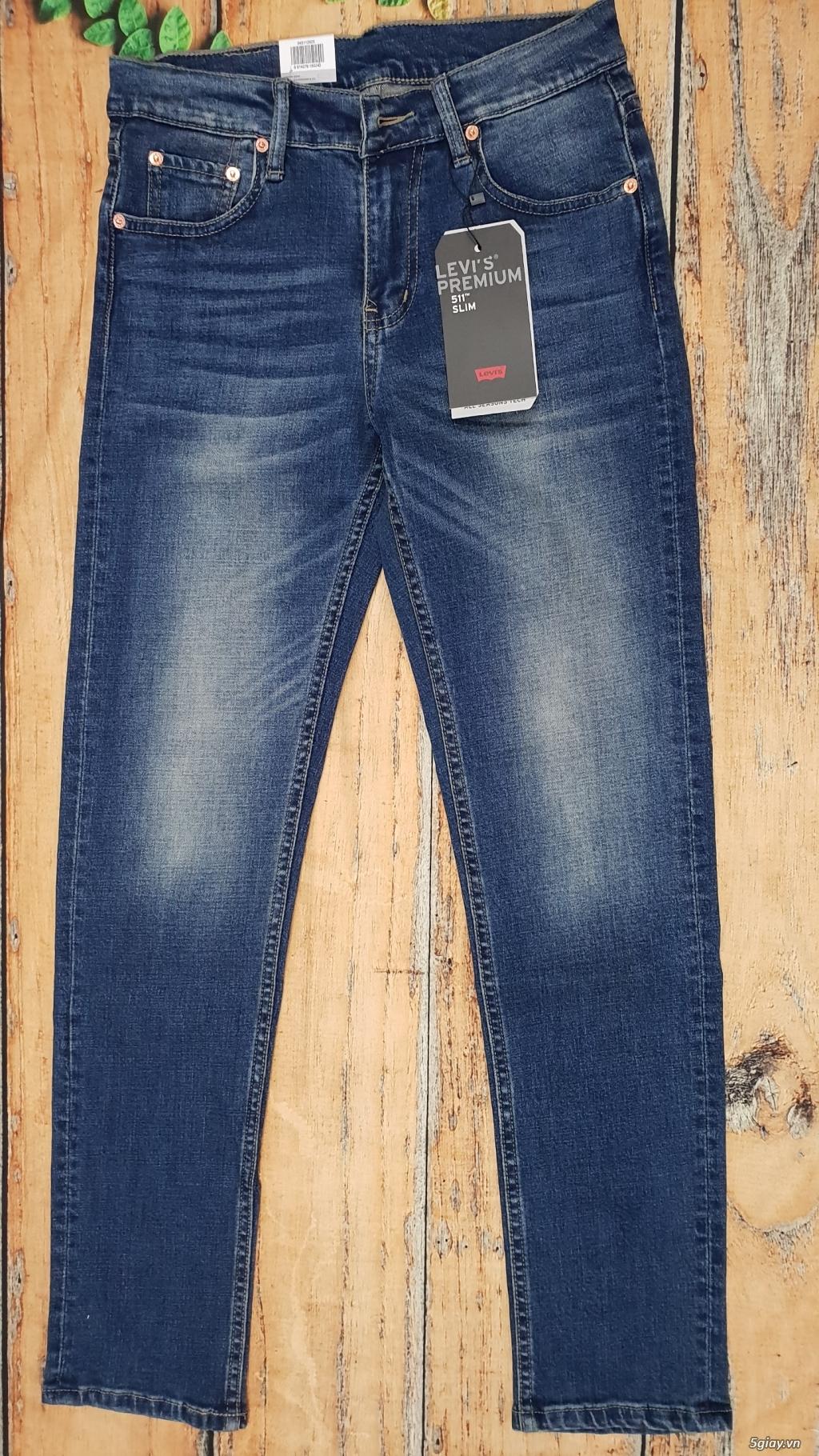 Chuyên bán quần jeans Nam Levi's 511 dáng xuông đủ màu đủ size - 11