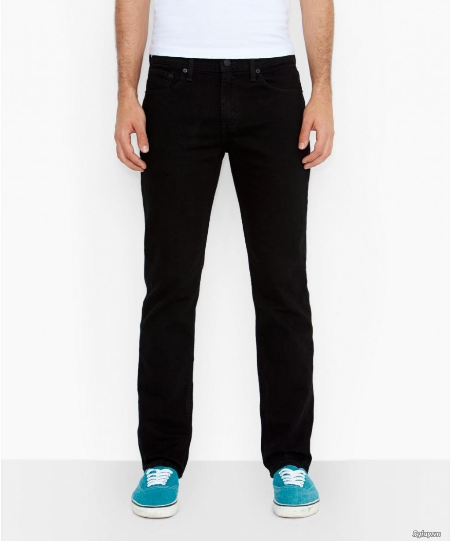 Chuyên bán quần jeans Nam Levi's 511 dáng xuông đủ màu đủ size - 6