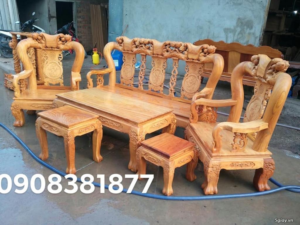 salon phòng khách gỗ quý giá cực rẻ ( xem hàng tại xưởng ) - 3