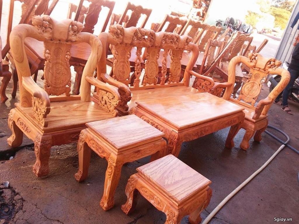 salon phòng khách gỗ quý giá cực rẻ ( xem hàng tại xưởng ) - 4