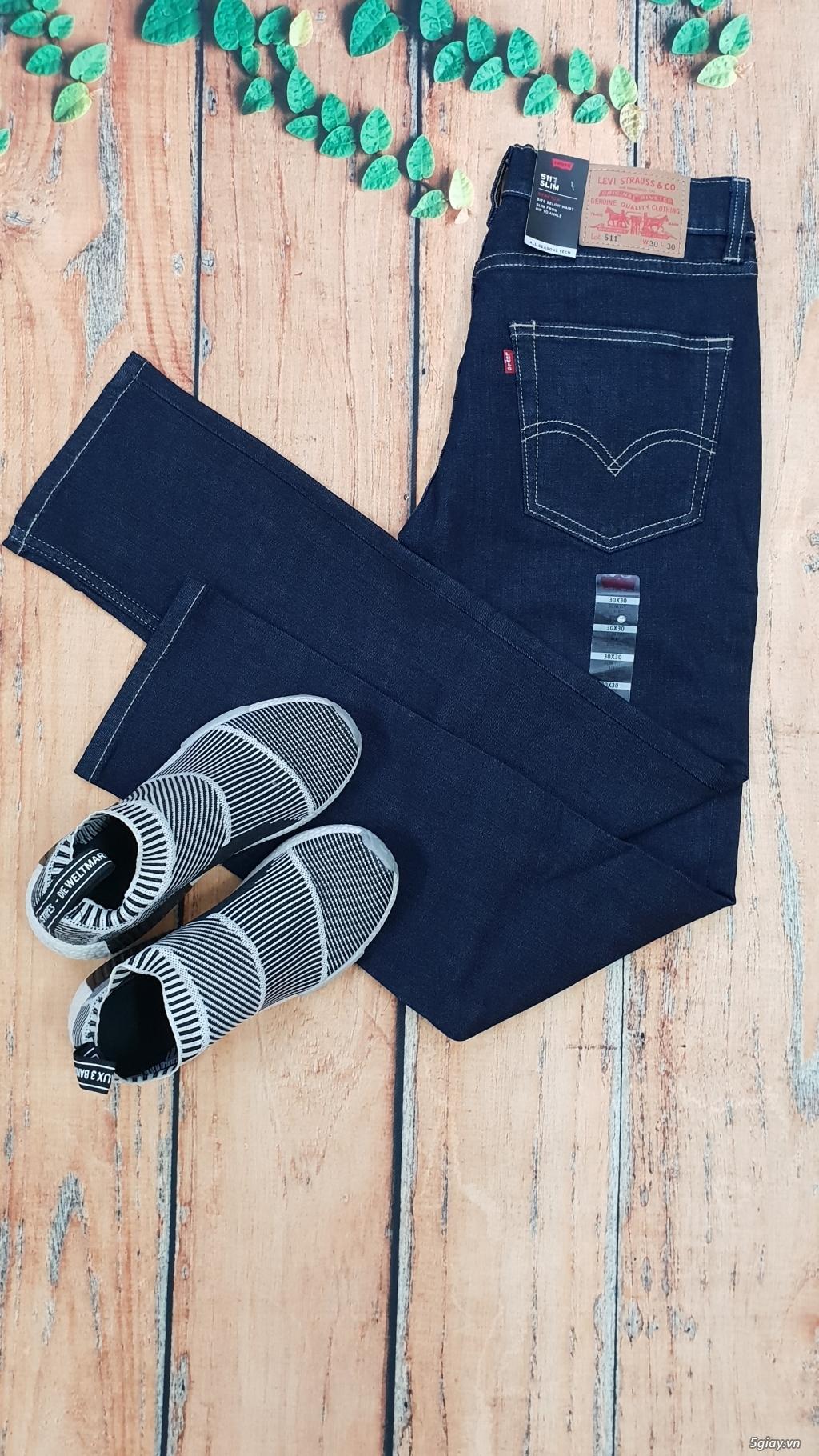 Chuyên bán quần jeans Nam Levi's 511 dáng xuông đủ màu đủ size - 3