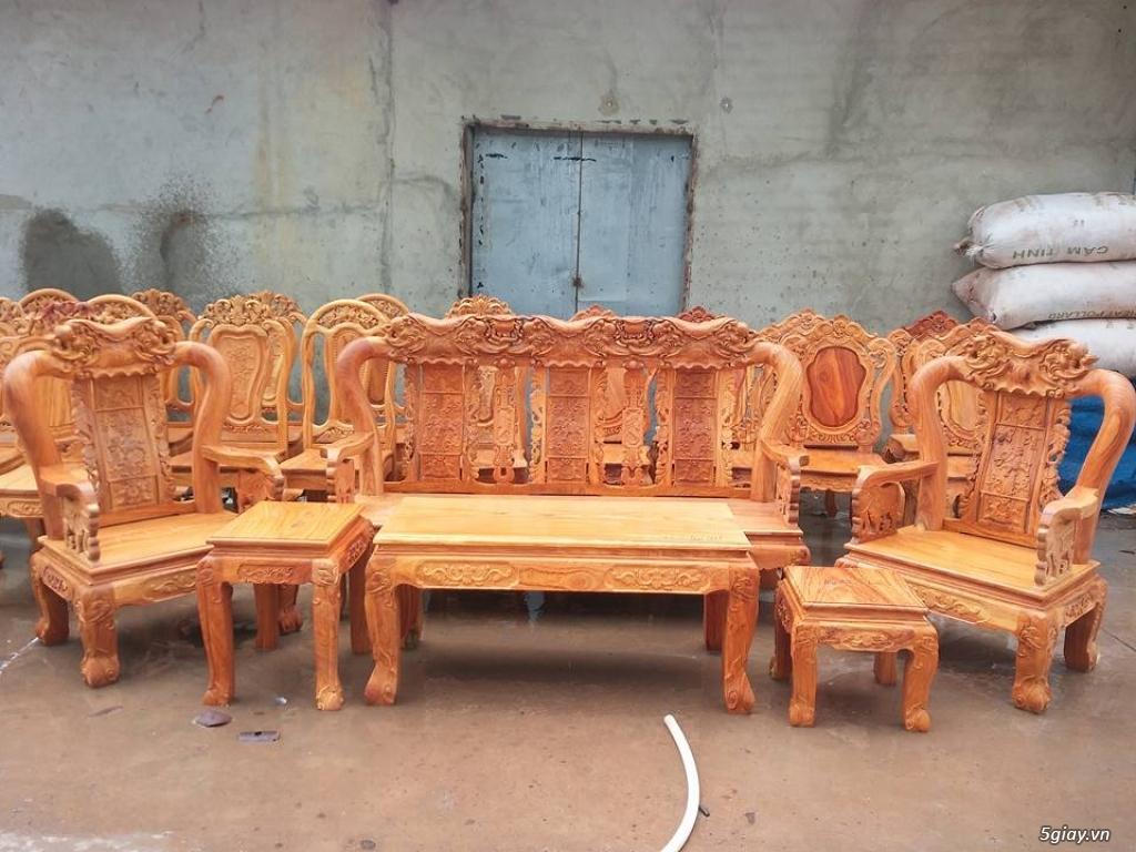 salon phòng khách gỗ quý giá cực rẻ ( xem hàng tại xưởng ) - 36