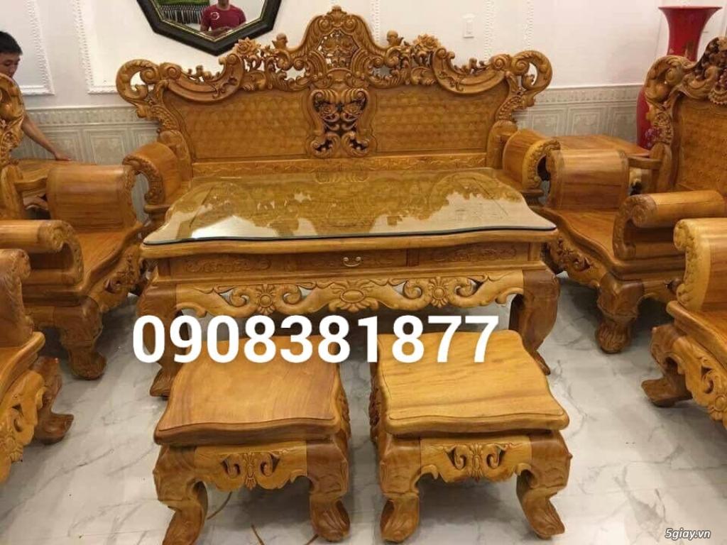 salon phòng khách gỗ quý giá cực rẻ ( xem hàng tại xưởng ) - 48