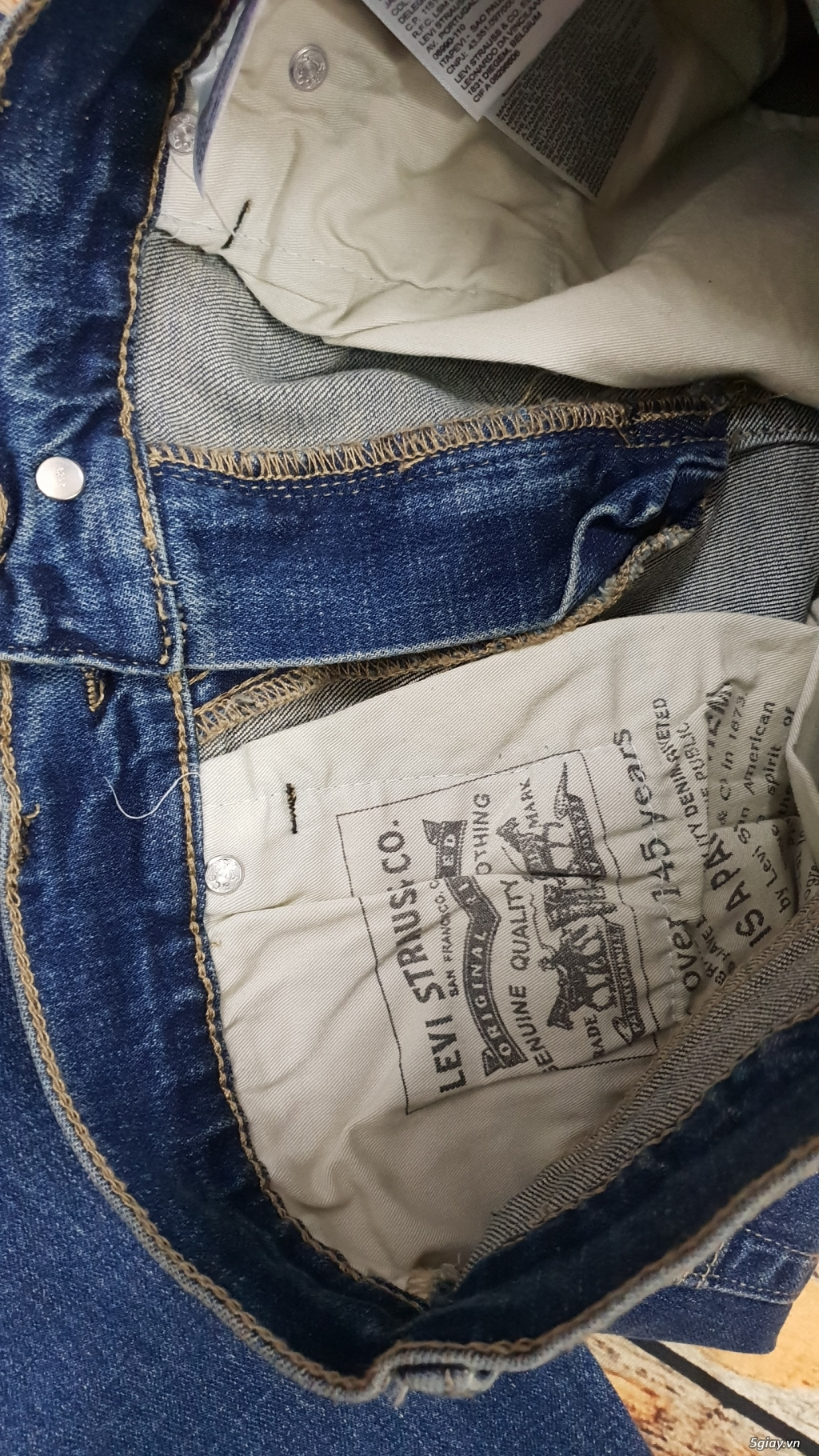 Chuyên bán quần jeans Nam Levi's 511 dáng xuông đủ màu đủ size - 14