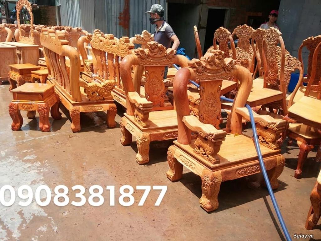 salon phòng khách gỗ quý giá cực rẻ ( xem hàng tại xưởng ) - 25
