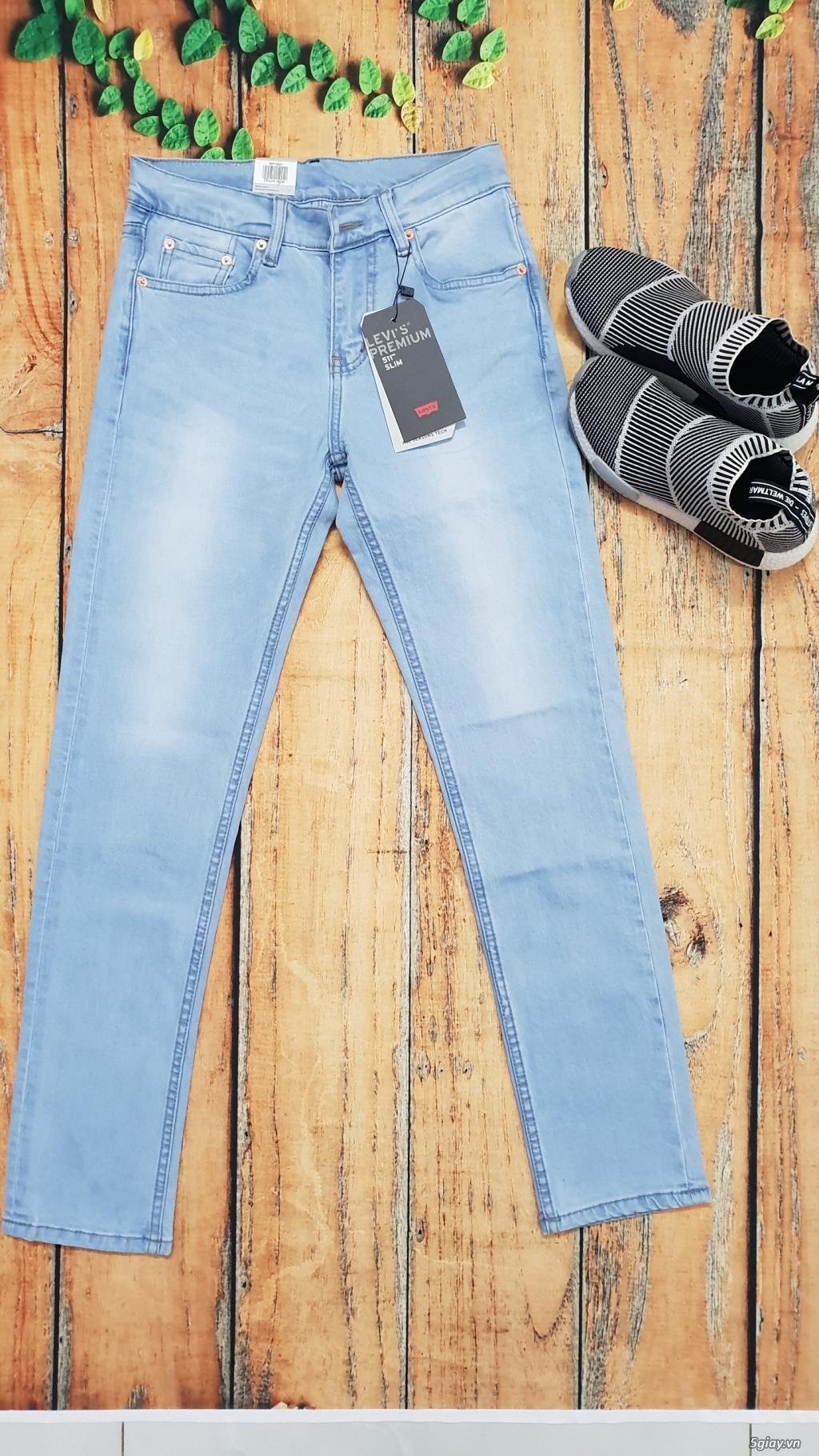 Chuyên bán quần jeans Nam Levi's 511 dáng xuông đủ màu đủ size - 8