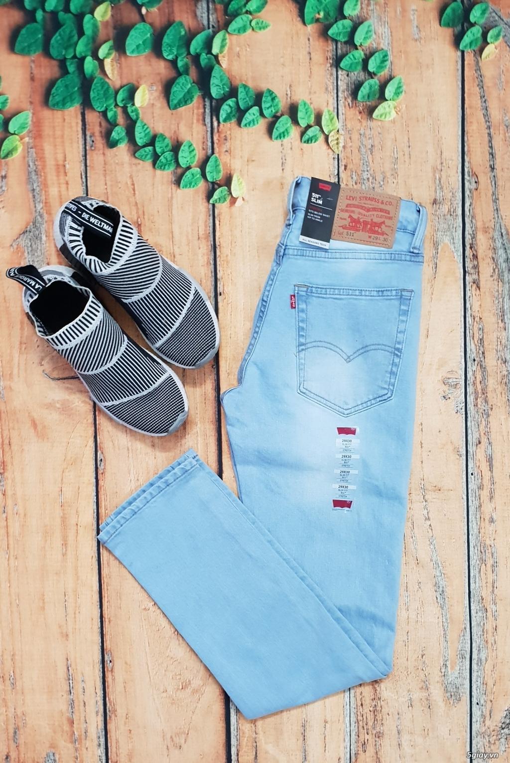 Chuyên bán quần jeans Nam Levi's 511 dáng xuông đủ màu đủ size - 9