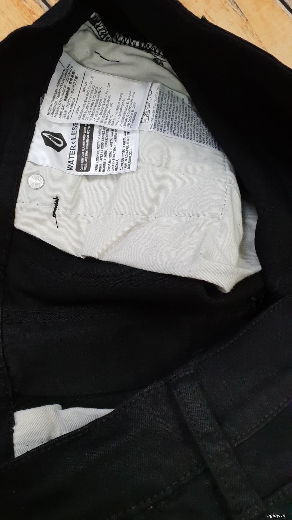 Chuyên bán quần jeans Nam Levi's 511 dáng xuông đủ màu đủ size - 7
