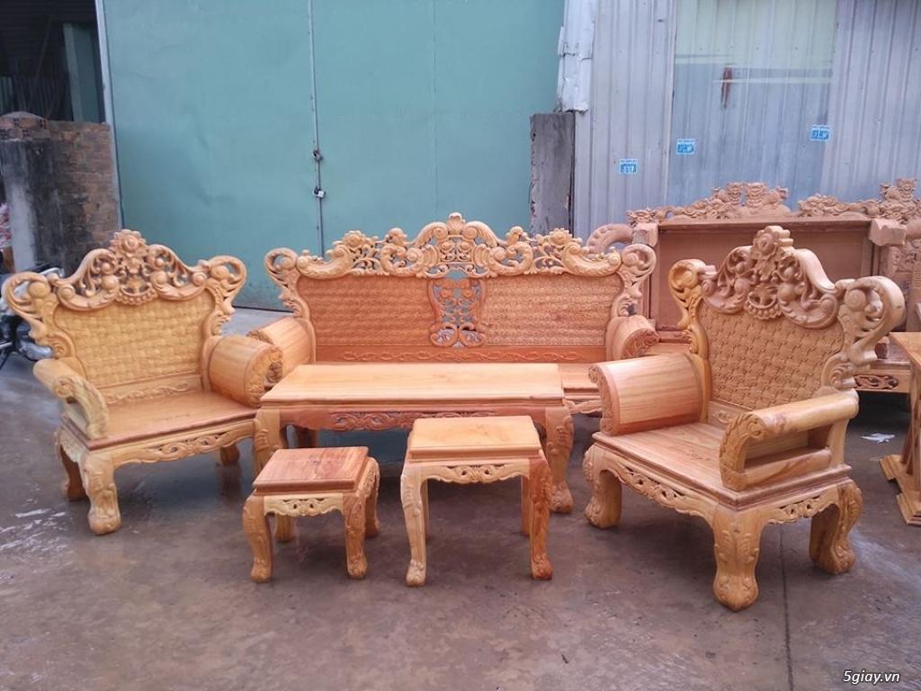 salon phòng khách gỗ quý giá cực rẻ ( xem hàng tại xưởng ) - 35