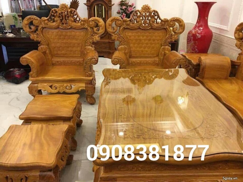 salon phòng khách gỗ quý giá cực rẻ ( xem hàng tại xưởng ) - 37