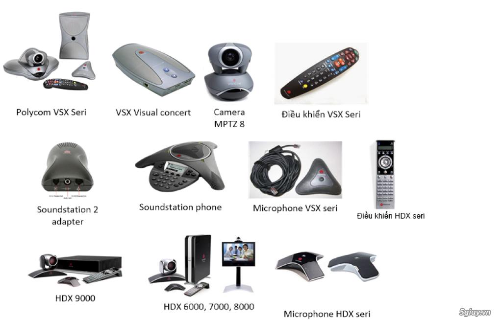 Sửa Chữa hệ thống thiết bị hội nghị truyền hình Polycom